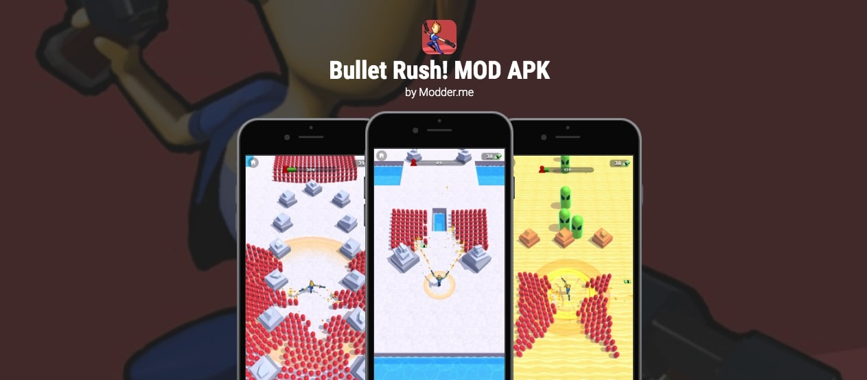 Bullet Rush! MOD (Unlimited Money) 1.3 Latest Download