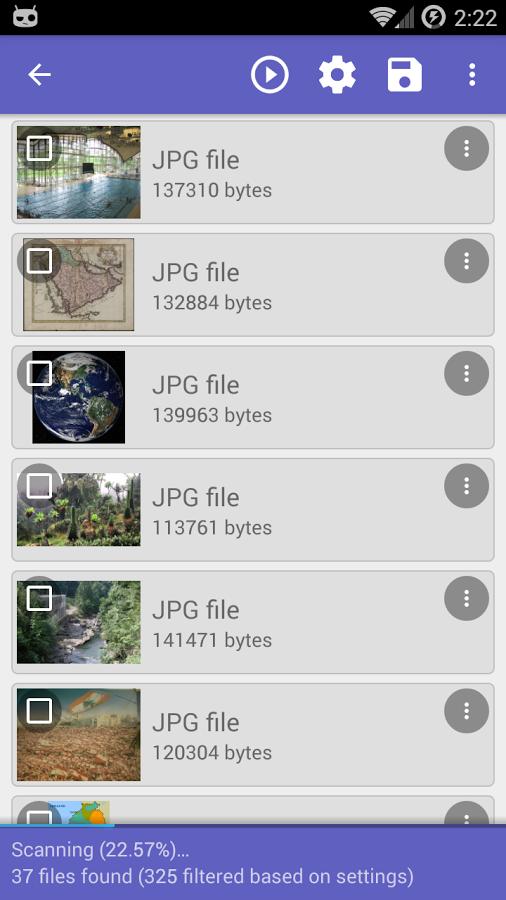 Details Of Disk Digger pro apk