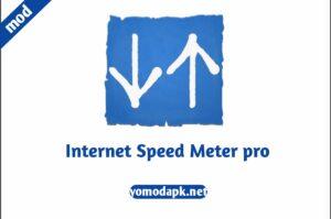 Internet speed meter mod apk