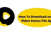 How To Download snack Video Status File Apk
