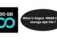 What Is Degoo: 100GB Cloud storage Apk File ?